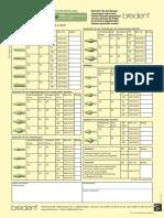 Faxbestellschein Bredent REF 0002200D 0002210D Erw Funktionen