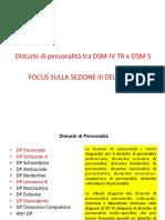 DSM 5 Disturbi Di Personalità