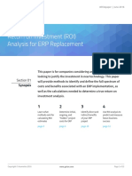 ROI Analysis ERP Replacement White Paper