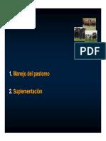 Manejo Del Pastoreo y Suplementación_2014