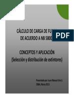 Modulo VIII Carga de Fuego NB 58005_MAr2013