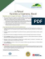 Sendero Hacienda Esperanza