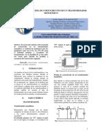 Informe 3 Máquinas Eléctricas