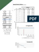 Cálculo de Esforços em Viga Biapoiada com Carga Pontual e Uniforme.xlsx