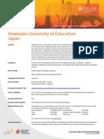 Hokkaido University of Education Japan