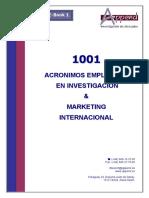 Acronimos Inv. MKT Int.