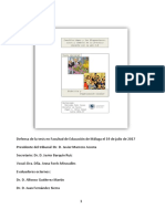 """Defensa de la Tesis doctoral """"Conchita López y los blogmaníacos. Luces y sombras de la práctica docente con la web 2.0"""