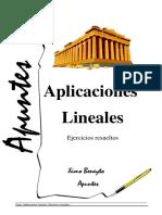 Problemes Aplicacions Lineals 2016