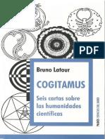 Latour, Bruno. (2012) Cogitamus