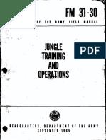 FM 31-30 Jungle Training and Operations (1965) (1-5)
