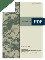 The Recruiter Handbook