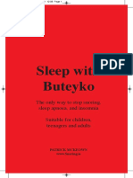 Sleep With Buteyko