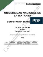 Ct Teoria Excel Nivel II 1erc2015