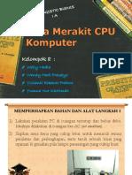 Cara Merakit CPU Komputer