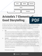 Aristotles 7 Elements of Good Storytelling