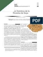 Valor Nutritivo de La Soya