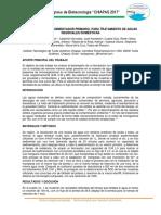 Eficiencia de Un Sedimentador Primario%2c Para Tratamiento de Aguas Residuales Domésticas