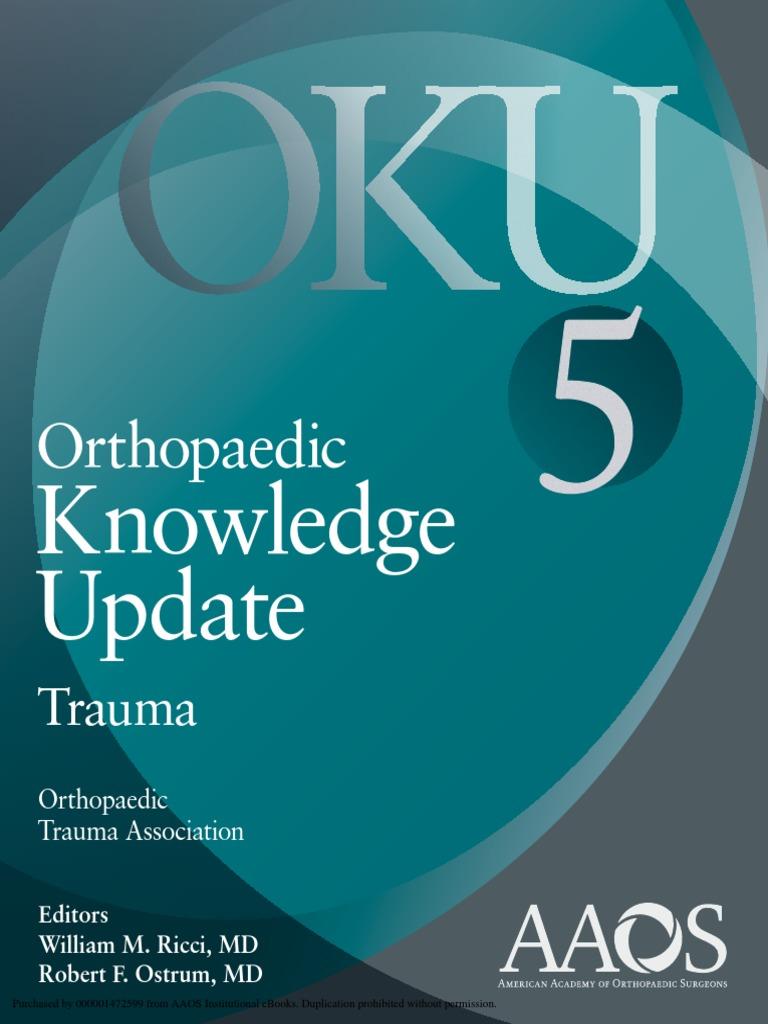 Oku 5 trauma orthopedic surgery emergency medical services fandeluxe Images