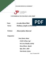 Los Años 80en El Perú  problemas social, político y económico