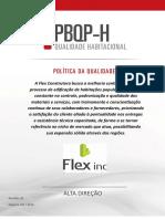 Cartaz Modelo - Política Da Qualidade - PBQPH