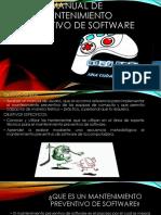 Manual de Mantenimiento Preventivo de Software