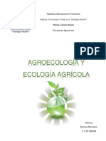 Agroecologia y Agricultura
