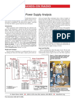 Hands-On Radio - Power Supply Analysis - N0AX