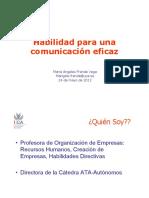 comunicacion eficaz