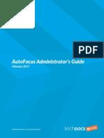 Autofocus Admin Guide