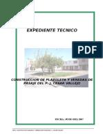 100174746 Construccion Plazoleta y Veredas de Pasaje Del p j Cesar Vallejo Tacna
