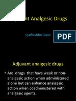 Adjuvants Drugs.pptx