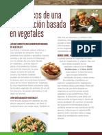 Los Basicos de La Dieta Basada en Vegetales