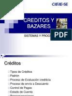 Creditos y Bazares