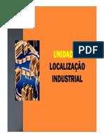 Aula 5 - Localização Industrial