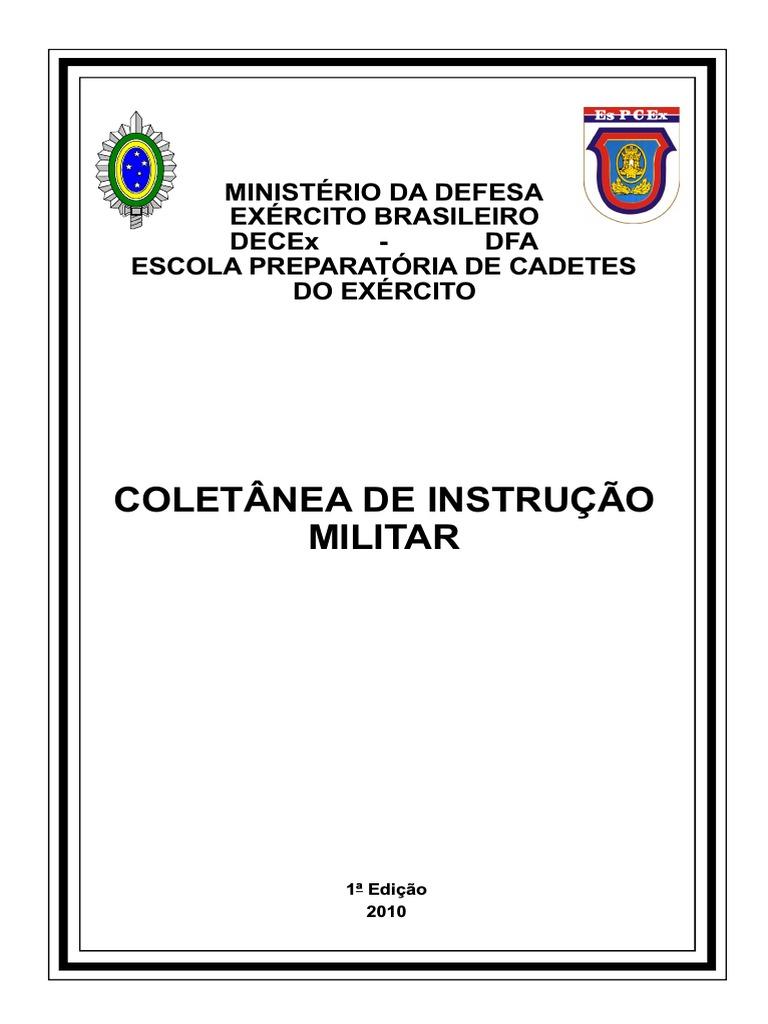 Coletanea de Instrucoes Militares - Jan 2010 6654884e9f8