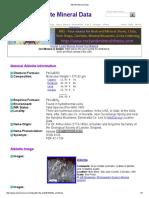 Aikinite Mineral Data1