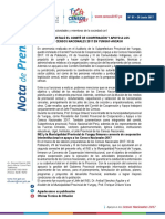 Nota de Prensa N°1-2017-INEI-YUNGAY