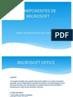 Componentes de Microsoft-diapositivas