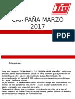 CAMPAÑAS  MARZO