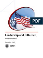 Leadership and Influence_is240