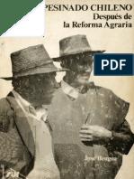Bengoa - El campesinado chileno después de la reforma agraria (1983)