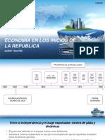 Historia Económica del Perú en inicios de la república