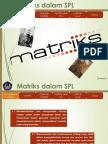 Matematika kelas XII, Matriks dan Sistem Persamaan Linier