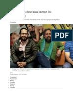 Qué Tanto y Cómo Usan Internet Los Colombianos