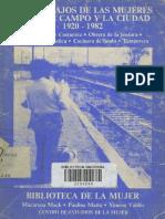 Mack Et Al - Los Trabajos de Las Mujeres Entre El Campo y La Ciudad (1920-1982)