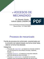 Procesos de Mecanizado