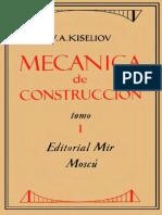 Mecanica de Constr. Tomo 1 Kiseliov