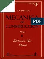 Mecanica de Constr. Tomo 2 Kiseliov