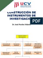 Sesión 02 Construcción de Instrumentos de Investigación