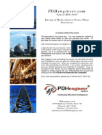Design of Hydroelectric Plants